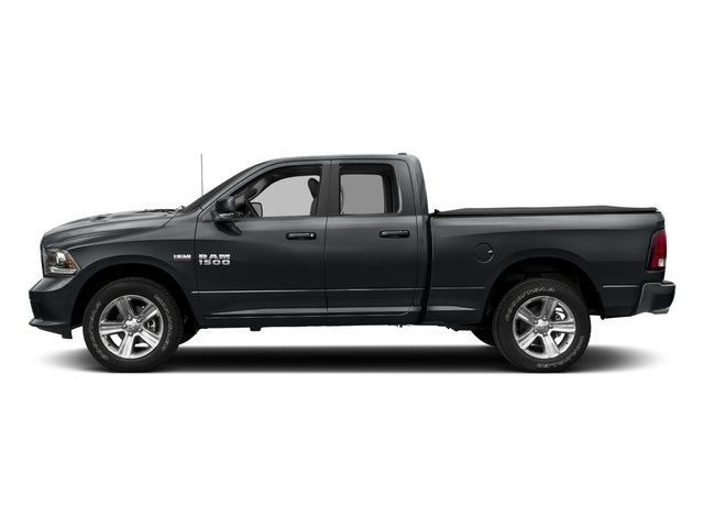 Maximum Steel Metallic Clearcoat 2018 Ram Truck 1500 Pictures 1500 Sport 4x4 Quad Cab 6'4 Box *Ltd Avail* photos side view