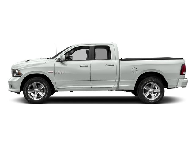 Bright White Clearcoat 2018 Ram Truck 1500 Pictures 1500 Sport 4x4 Quad Cab 6'4 Box *Ltd Avail* photos side view