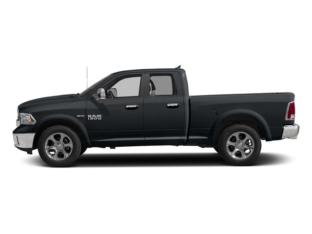 Maximum Steel Metallic Clearcoat 2018 Ram Truck 1500 Pictures 1500 Laramie 4x4 Quad Cab 6'4 Box photos side view