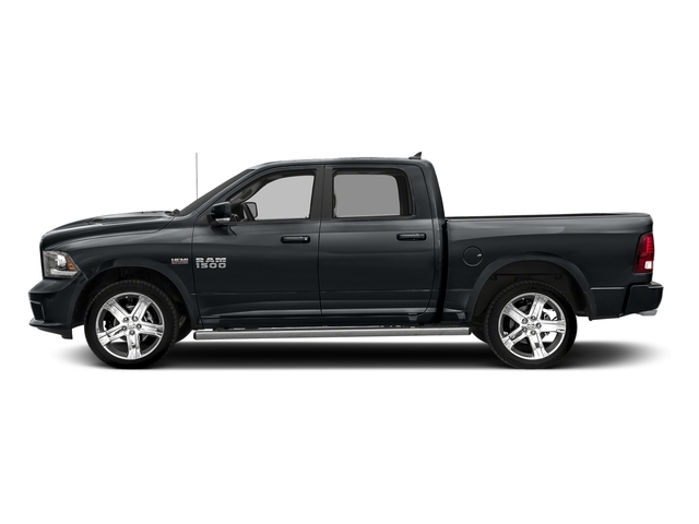 Maximum Steel Metallic Clearcoat 2018 Ram Truck 1500 Pictures 1500 Night 4x4 Crew Cab 6'4 Box *Ltd Avail* photos side view