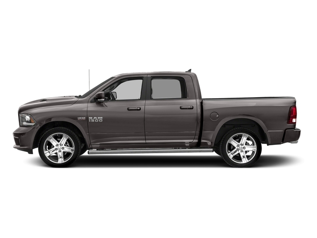 Granite Crystal Metallic Clearcoat 2018 Ram Truck 1500 Pictures 1500 Night 4x4 Crew Cab 6'4 Box *Ltd Avail* photos side view