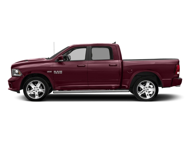 Delmonico Red Pearlcoat 2018 Ram Truck 1500 Pictures 1500 Night 4x4 Crew Cab 6'4 Box *Ltd Avail* photos side view