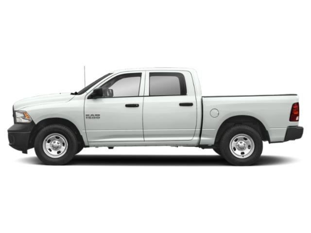 Bright White Clearcoat 2018 Ram Truck 1500 Pictures 1500 Crew Cab Tradesman 2WD photos side view