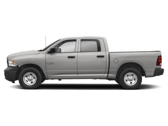 Bright Silver Metallic Clearcoat 2018 Ram Truck 1500 Pictures 1500 Crew Cab Tradesman 2WD photos side view