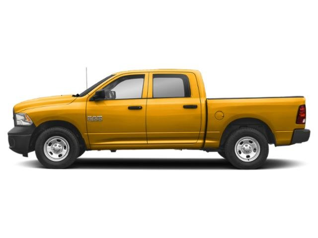 Detonator Yellow Clearcoat 2018 Ram Truck 1500 Pictures 1500 Crew Cab Tradesman 4WD photos side view