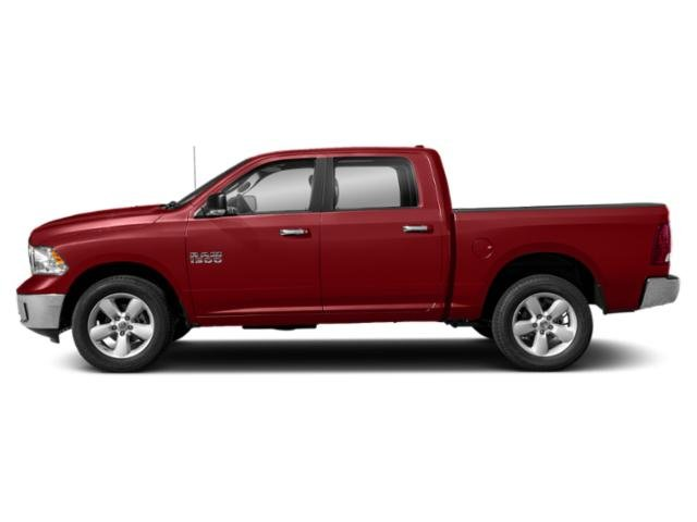 Flame Red Clearcoat 2018 Ram Truck 1500 Pictures 1500 Crew Cab Bighorn/Lone Star 4WD photos side view