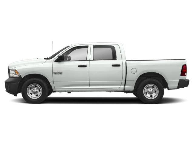 Bright White Clearcoat 2018 Ram Truck 1500 Pictures 1500 Express 4x4 Crew Cab 5'7 Box photos side view