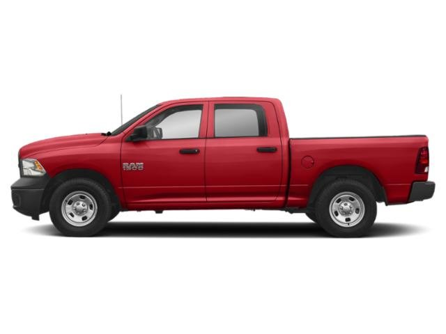 Bright Red 2018 Ram Truck 1500 Pictures 1500 Tradesman 4x2 Crew Cab 5'7 Box photos side view