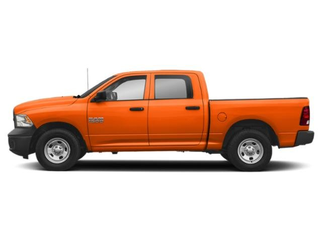 Omaha Orange 2018 Ram Truck 1500 Pictures 1500 Tradesman 4x2 Crew Cab 5'7 Box photos side view