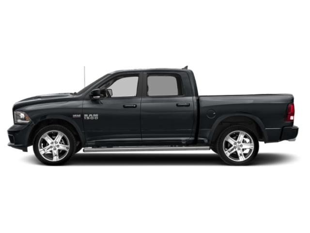 Maximum Steel Metallic Clearcoat 2018 Ram Truck 1500 Pictures 1500 Crew Cab Sport 2WD photos side view