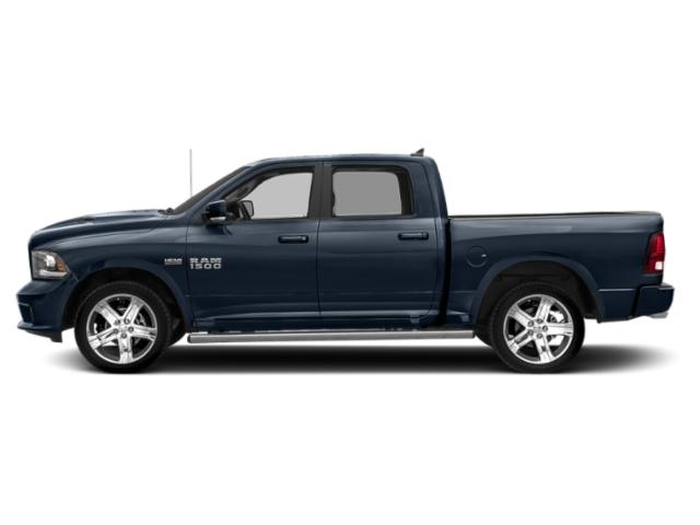 True Blue Pearlcoat 2018 Ram Truck 1500 Pictures 1500 Crew Cab Sport 2WD photos side view