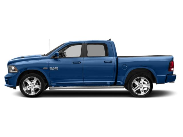 Blue Streak Pearlcoat 2018 Ram Truck 1500 Pictures 1500 Crew Cab Sport 2WD photos side view