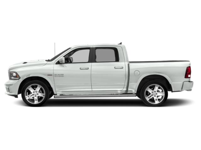 Bright White Clearcoat 2018 Ram Truck 1500 Pictures 1500 Crew Cab Sport 2WD photos side view