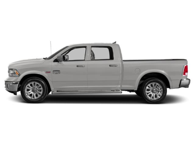Bright Silver Metallic Clearcoat 2018 Ram Truck 1500 Pictures 1500 Crew Cab Limited 2WD photos side view