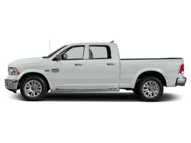 Bright White Clearcoat 2018 Ram Truck 1500 Pictures 1500 Crew Cab Limited 2WD photos side view