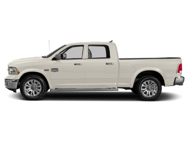 Pearl White 2018 Ram Truck 1500 Pictures 1500 Crew Cab Limited 2WD photos side view