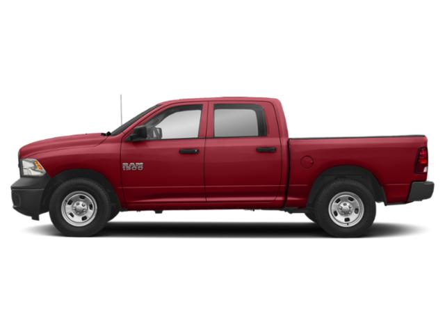 Flame Red Clearcoat 2018 Ram Truck 1500 Pictures 1500 Tradesman 4x2 Crew Cab 5'7 Box photos side view