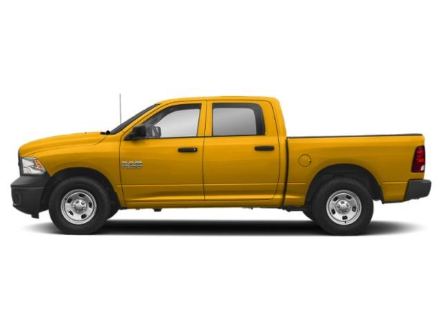 Detonator Yellow Clearcoat 2018 Ram Truck 1500 Pictures 1500 Tradesman 4x2 Crew Cab 5'7 Box photos side view
