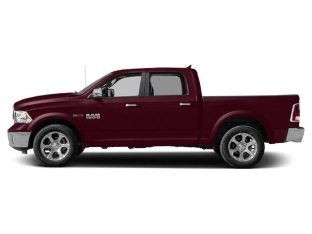 Delmonico Red Pearlcoat 2018 Ram Truck 1500 Pictures 1500 Crew Cab Laramie 2WD photos side view