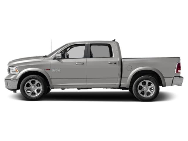 Bright Silver Metallic Clearcoat 2018 Ram Truck 1500 Pictures 1500 Crew Cab Laramie 2WD photos side view