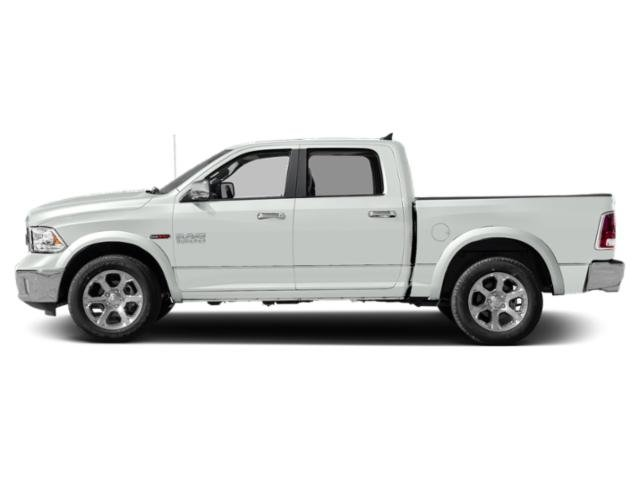 Bright White Clearcoat 2018 Ram Truck 1500 Pictures 1500 Crew Cab Laramie 2WD photos side view