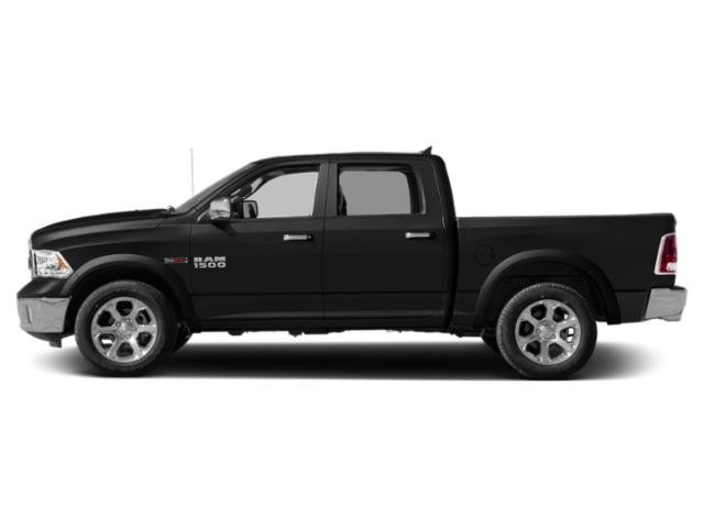 Brilliant Black Crystal Pearlcoat 2018 Ram Truck 1500 Pictures 1500 Crew Cab Laramie 4WD photos side view