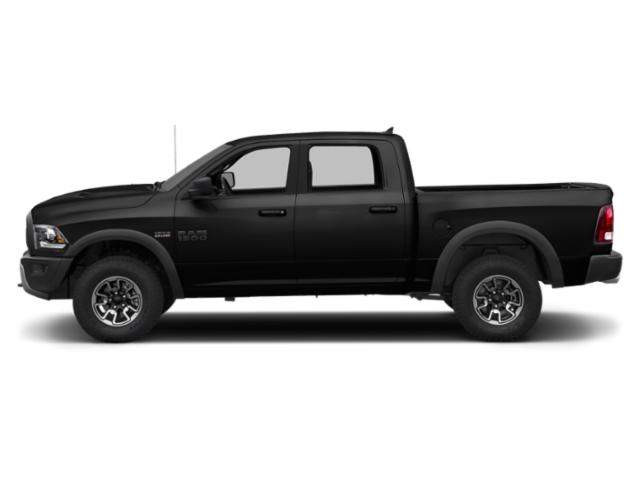 Brilliant Black Crystal Pearlcoat 2018 Ram Truck 1500 Pictures 1500 Crew Cab Rebel 2WD photos side view