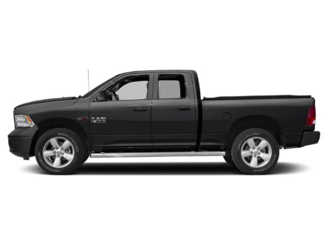 Granite Crystal Metallic Clearcoat 2018 Ram Truck 1500 Pictures 1500 HFE 4x2 Quad Cab 6'4 Box photos side view