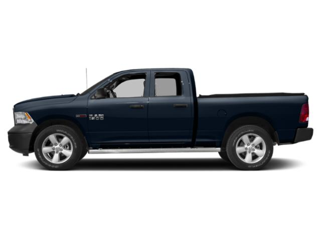 True Blue Pearlcoat 2018 Ram Truck 1500 Pictures 1500 Quad Cab HFE 2WD V6 T-Diesel photos side view