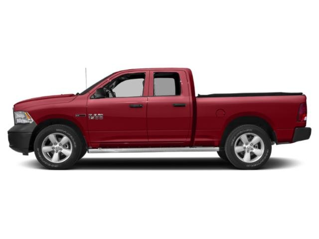 Flame Red Clearcoat 2018 Ram Truck 1500 Pictures 1500 Quad Cab HFE 2WD V6 T-Diesel photos side view
