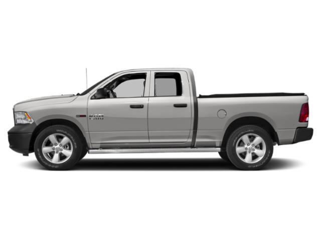 Bright Silver Metallic Clearcoat 2018 Ram Truck 1500 Pictures 1500 Quad Cab HFE 2WD V6 T-Diesel photos side view