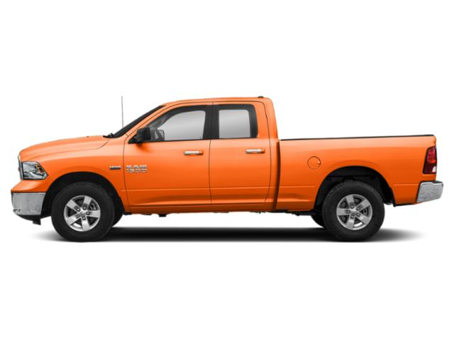 Omaha Orange 2018 Ram Truck 1500 Pictures 1500 Quad Cab SLT 2WD photos side view