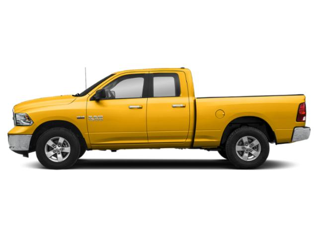 Yellow 2018 Ram Truck 1500 Pictures 1500 Quad Cab SLT 2WD photos side view