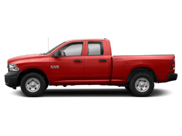 Bright Red 2018 Ram Truck 1500 Pictures 1500 Quad Cab Express 4WD photos side view