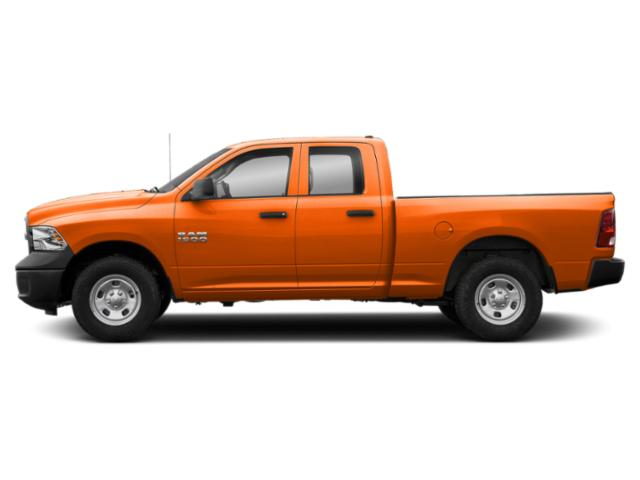 Omaha Orange 2018 Ram Truck 1500 Pictures 1500 Quad Cab Express 4WD photos side view