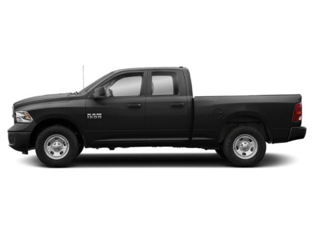 Black Clearcoat 2018 Ram Truck 1500 Pictures 1500 Quad Cab Express 4WD photos side view
