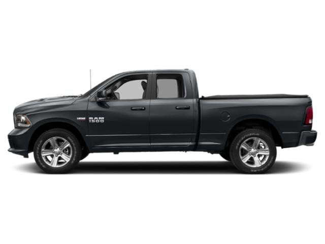 Maximum Steel Metallic Clearcoat 2018 Ram Truck 1500 Pictures 1500 Quad Cab Sport 4WD photos side view