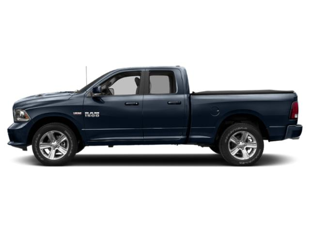 True Blue Pearlcoat 2018 Ram Truck 1500 Pictures 1500 Quad Cab Sport 2WD photos side view