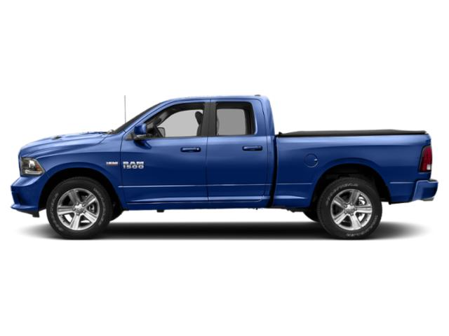 Blue Streak Pearlcoat 2018 Ram Truck 1500 Pictures 1500 Quad Cab Sport 2WD photos side view