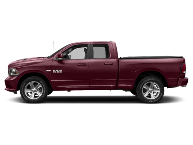 Delmonico Red Pearlcoat 2018 Ram Truck 1500 Pictures 1500 Quad Cab Sport 2WD photos side view