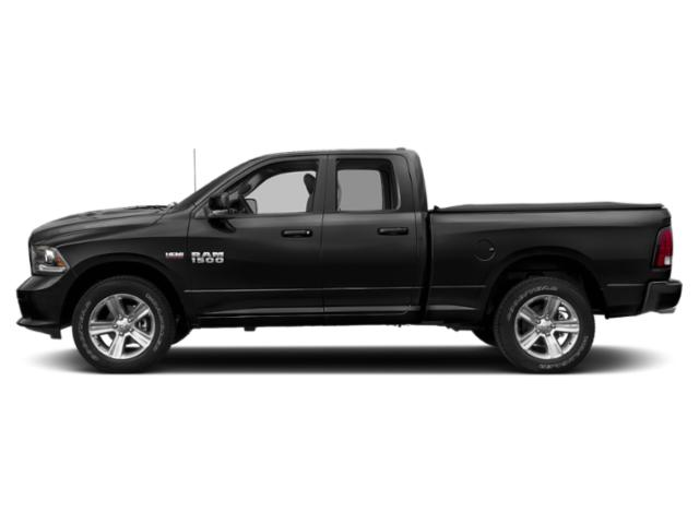 Brilliant Black Crystal Pearlcoat 2018 Ram Truck 1500 Pictures 1500 Quad Cab Sport 4WD photos side view