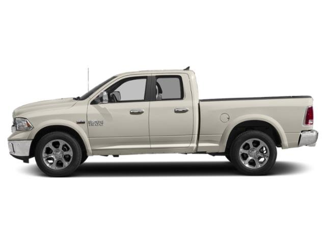 Pearl White 2018 Ram Truck 1500 Pictures 1500 Quad Cab Laramie 4WD photos side view