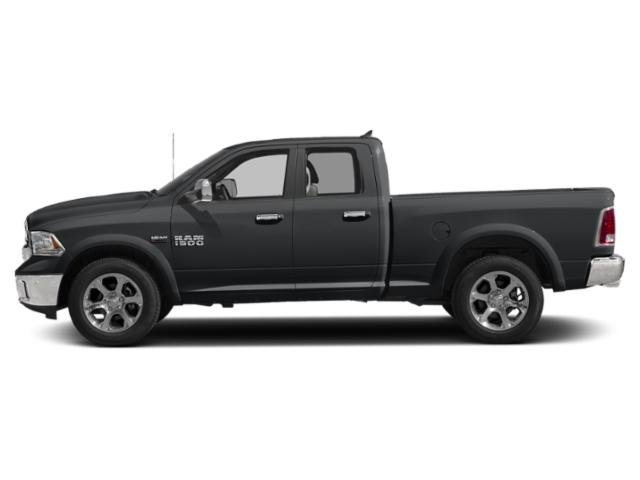Granite Crystal Metallic Clearcoat 2018 Ram Truck 1500 Pictures 1500 Quad Cab Laramie 2WD photos side view
