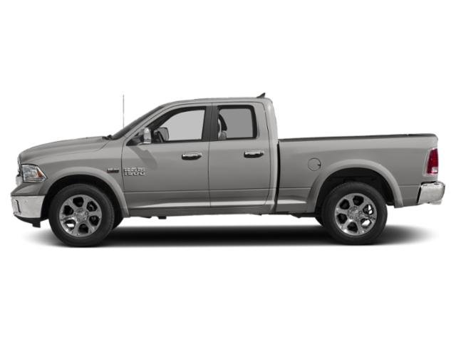 Bright Silver Metallic Clearcoat 2018 Ram Truck 1500 Pictures 1500 Quad Cab Laramie 2WD photos side view
