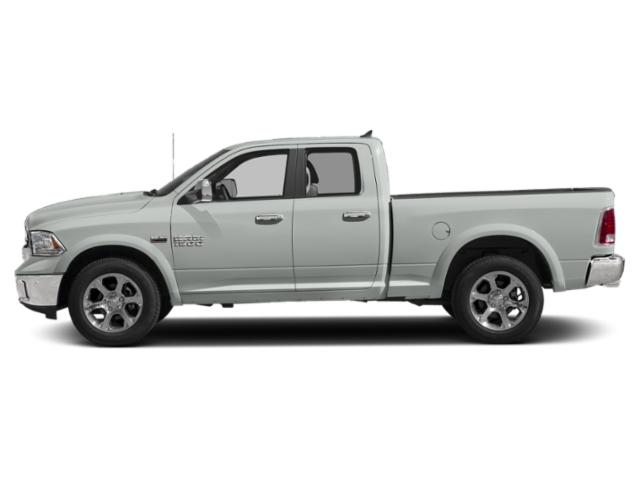 Bright White Clearcoat 2018 Ram Truck 1500 Pictures 1500 Quad Cab Laramie 4WD photos side view