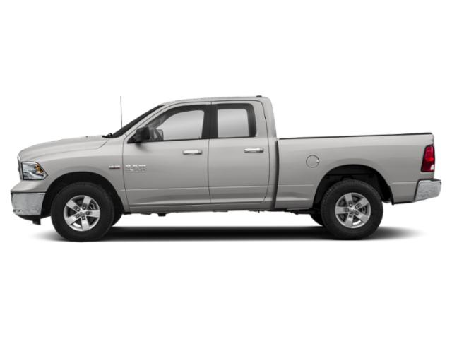 Bright Silver Metallic Clearcoat 2018 Ram Truck 1500 Pictures 1500 Big Horn 4x4 Quad Cab 6'4 Box photos side view