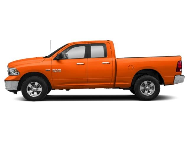 Omaha Orange 2018 Ram Truck 1500 Pictures 1500 Big Horn 4x4 Quad Cab 6'4 Box photos side view