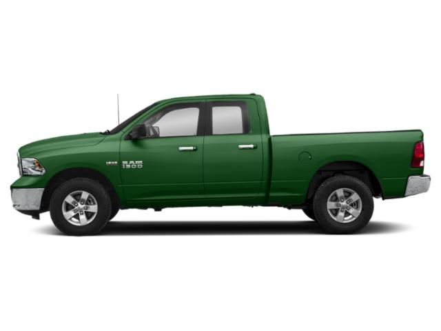 Tree Green 2018 Ram Truck 1500 Pictures 1500 Big Horn 4x4 Quad Cab 6'4 Box photos side view