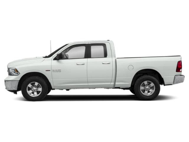 Bright White Clearcoat 2018 Ram Truck 1500 Pictures 1500 Lone Star 4x4 Quad Cab 6'4 Box photos side view