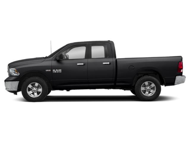 Black Clearcoat 2018 Ram Truck 1500 Pictures 1500 Big Horn 4x4 Quad Cab 6'4 Box photos side view
